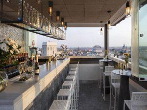 Terraza al aire libre en Castellana